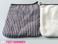 Feet warmer