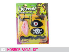 Horror facial kit