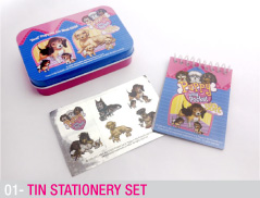 Tin Stationery set