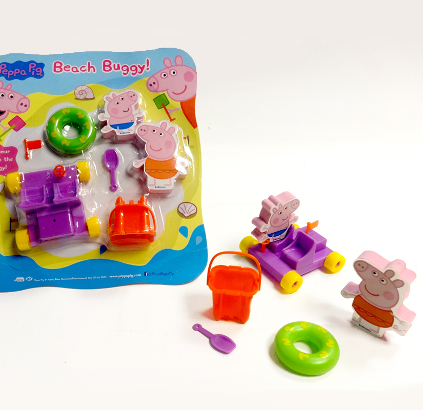 Peppa Pig Beach Buggy set