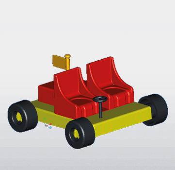 Peppa Pig Beach Buggy set